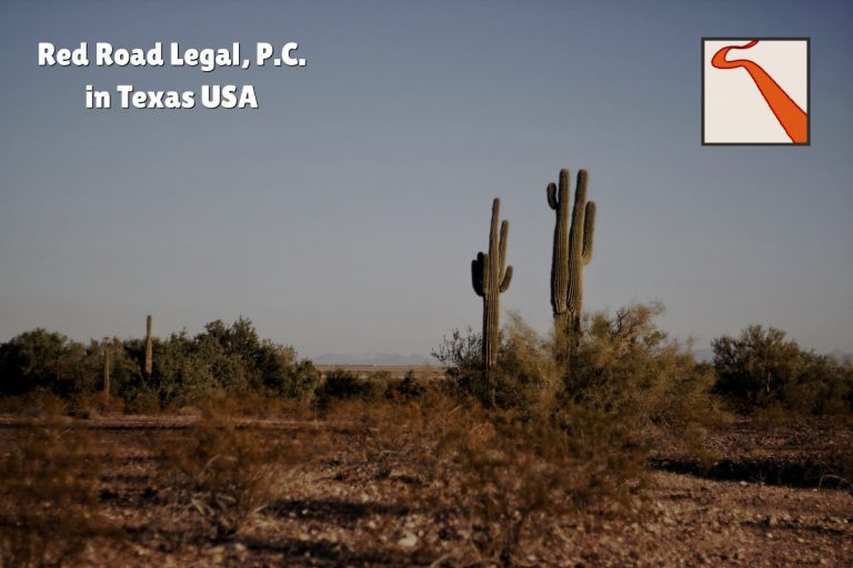 Red Road Legal, P.C. in Texas USA